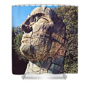 Italian Statue Shower Curtain