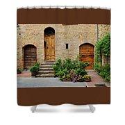 Italy - Door Eight Shower Curtain