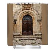 Italy - Door Eighteen Shower Curtain