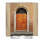Italy - Door Fifteen Shower Curtain