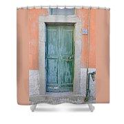 Italy - Door Five Shower Curtain