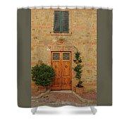Italy - Door Nine Shower Curtain