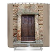 Italy - Door Nineteen Shower Curtain