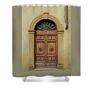 Italy - Door One Shower Curtain