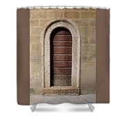 Italy - Door Ten Shower Curtain