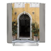 Italy - Door Thirteen Shower Curtain