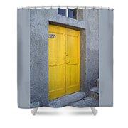 Italy - Door Three Shower Curtain