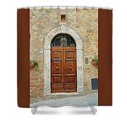 Italy - Door Twelve Shower Curtain