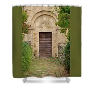 Italy - Door Twenty Five Shower Curtain