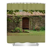 Italy Door Twenty Four Shower Curtain