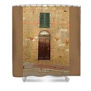 Italy - Door Twenty One Shower Curtain