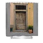 Italy - Door Twenty Three Shower Curtain