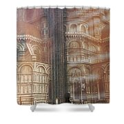 Italy, Florence, Duomo And Campanile Shower Curtain