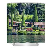 Italy Home Shower Curtain