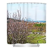 Italy In Spring Shower Curtain