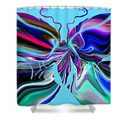 It's A Butterfly's Life. Shower Curtain