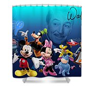 Its A Disney Thing Shower Curtain