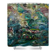 Charming Chasms Series It's A Jungle Shower Curtain