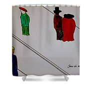 Its A Wonderful Life Shower Curtain