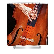 It's All About The Bass Shower Curtain
