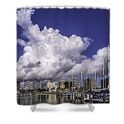 It's All About The Clouds Shower Curtain