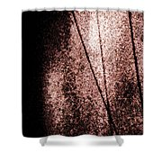 It's All Just Lines, The Sound And The Fury Shower Curtain