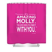 Its Amazing Molly Shower Curtain