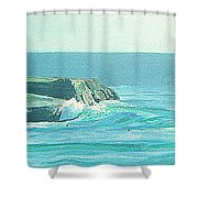 Its Beach Shower Curtain