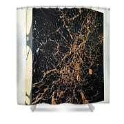 it's Black and Gold man Shower Curtain