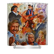 Its Country 1 Shower Curtain