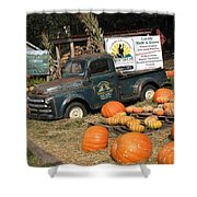 It's Fall At Sunrise Grocery Shower Curtain