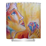 It's Time To Shine Shower Curtain