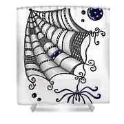 Itsy Bitsy Spider Shower Curtain