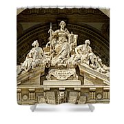 Iustitia Shower Curtain