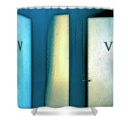 Iv Or Vi Shower Curtain