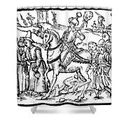 Ivan Iv Vasilevich (1530-1584) Shower Curtain