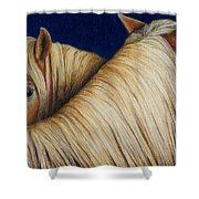 I've Got Your Back Shower Curtain by Pat Erickson