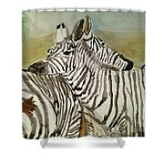 Ive Got Your Back Shower Curtain