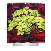 Ixora - Jungle Flame Shower Curtain