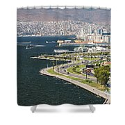 Izmir By The Sea Shower Curtain