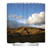 J D Sunset 2 Shower Curtain