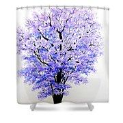 Jacaranda Time Shower Curtain