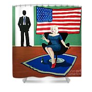 Jack And Marilyn Shower Curtain