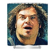 Jack Black - Tenacious D Shower Curtain