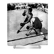 Jack Dempsey Shower Curtain by Granger