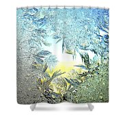 Jack Frost Masterpiece Shower Curtain