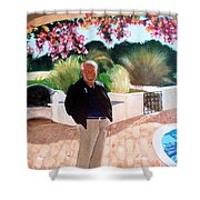 Jack In Portugal Shower Curtain