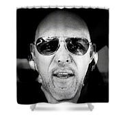 Jack Is Back Shower Curtain