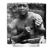 Jack Johnson (1878-1946) Shower Curtain