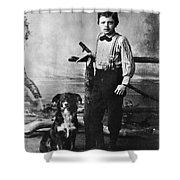 Jack London (1876-1916) Shower Curtain by Granger